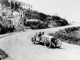 T Pilette in a Mercedes 45 Litre at the French Grand Prix  Lyons  1914