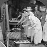 Doughnuts for Doughboys  Montabaur on the Rhine  Germany  C1918-C1919