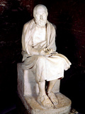 Statue of Seated Man Said to Be Herodotus  Ancient Greek Historian