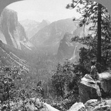 View from Inspiration Point Through Yosemite Valley  California  USA  1902