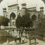 Tomb of Akbar  Sikandarah  Uttar Pradesh  India  C1900s