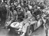 The Victorious Ferrari of Froilan Gonzalez and Maurice Trintignant  Le Mans 24 Hours  France  1954