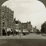 Grafton Street  Charlottetown  Prince Edward Island  Canada  Early 20th Century