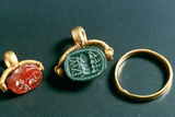 Rings with Inscription  Jewelery  Tunisia  C3rd-4th Century