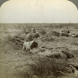 On the Fighting Line with the Queen's Finest  Modder River  South Africa  Boer War  1899-1902