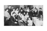 Grigori Rasputin and a Group of Women  1917