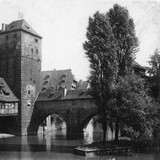 Henkersteg (The Hangman's Bridg)  Nuremberg  Bavaria  Germany  C1900s
