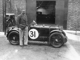 Cyril Paul with His Mg C Type  1932