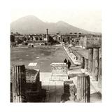 The Forum of Pompeii  Italy  1894