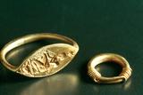 Ring with Inscription  Jewelery  Tunisia  C3rd-4th Century