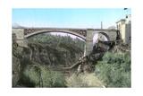 El-Kantara Bridge  Constantine  Northeast Algeria