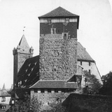 The Quintagonal Tower (Funfeckiger Thur)  Kaiserstallung  Nuremberg  Germany  C1900s