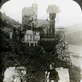 Castle Rheinstein  Near Bingen  Germany