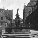 Tugendbrunnen  Nuremberg  Bavaria  Germany  C1900
