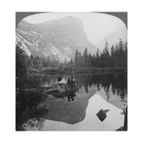 View of Mirror Lake  Looking Towards Mount Watkins  Yosemite  California  USA  1902