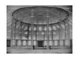 The World First Membrane Roof and Steel Gridshell in the Rotunda  1896
