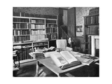 William Morris's Study  Kelmscott Manor  Kelmscott  Oxfordshire  1901