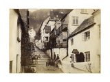 The New Inn and Street  Clovelly  Devon  Late 19th or Early 20th Century