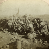 Gordon Highland Signallers on Signal Hill  Euslin  South Africa  Boer War  1899-1902