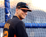 World Series Media Day & Workout: Joe Panik of the San Francisco Giants