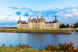 Chambord Chateau at Sunset  France