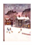 The New Yorker Cover - March 1  1952