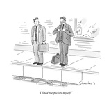 """I lined the pockets myself"" - New Yorker Cartoon"