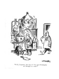 """Well  Carpenter  this does it! You and O'Callaghan are through as a team! - New Yorker Cartoon"