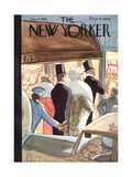 The New Yorker Cover - January 14  1933