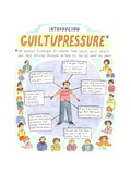 "Introducing GuiltuPressure:The ancient technique of finding your child's …"" - Cartoon"