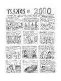 "Trends of 2000Which are the real deal Which are the impostors Answers b…"" - Cartoon"