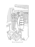 """But does it ever get that cold"" - New Yorker Cartoon"