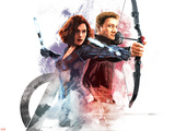 The Avengers: Age of Ultron - Black Widow and Hawkeye