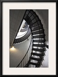 Stairs to the Top of the Saint Augustine Lighthouse  Florida  USA