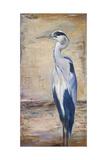Blue Heron II Giclée premium par Patricia Quintero-Pinto