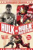 The Avengers: Age of Ultron - Hulk and Hulkbuster Battle Poster