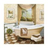 French Bath II Giclée premium par Elizabeth Medley
