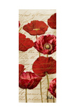 Red Poppies Panel I