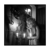 Mylène Demongeot by Candlelight  October 1965