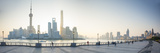 Pudong Skyline across the Huangpu River  the Bund  Shanghai  China
