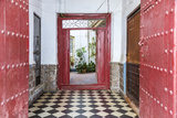 Spain  Andalusia  Malaga Province  Marbella Entrance to an Old House