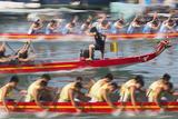 Dragon Boat Race  Shau Kei Wan  Hong Kong Island  Hong Kong