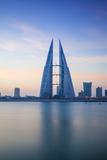 Bahrain  Manama  Bahrain Bay  View of Bahrain World Trade Center