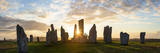 Sunset  Callanish Standing Stones  Isle of Lewis  Outer Hebrides  Scotland