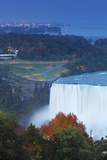 Canada and USA  Ontario and New York State  Niagara  Niagara Falls  View of Horseshoe Falls
