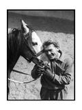 Jean Marais with a Horse