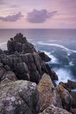 Dawn Skies Above Hella Point Near Porthgwarra  Cornwall  England Autumn