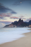 Ipanema Beach at Dawn  Rio De Janeiro  Brazil