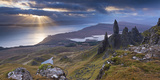 Old Man of Storr  Isle of Skye  Scotland Autumn (November)