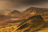 Spectacular Light over the Trotternish Range from the Quiraing in the Isle of Skye  Scotland